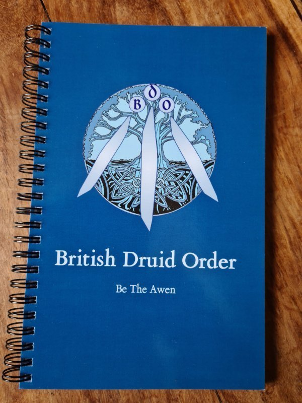 british druid order notebook