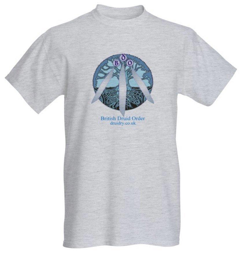 british druid order tree of life awen t-shirt